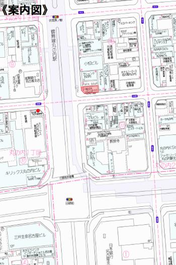 丸の内 千代田不動産 貸事務所 地図