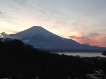 エクシブから見た富士山