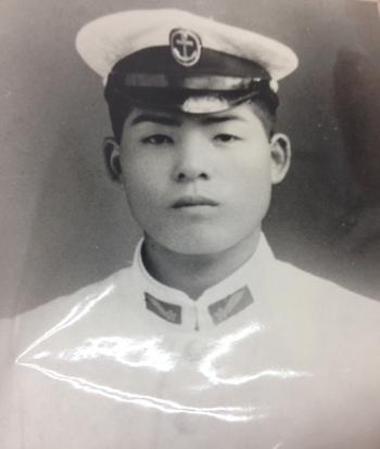 海軍 親父の写真