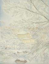 雪の金閣寺 〔December 22, 2003〕