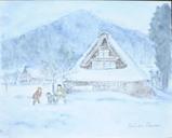 雪遊び 〔April 1, 2004〕