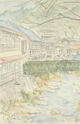 水俣の温泉宿 〔February 16, 2003〕