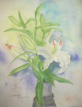 百合の花 [May 15, 2011]