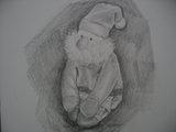 ミニサンタクロース by my daughter, Yuko