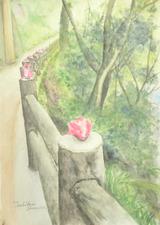 椿の花 [January 16, 2012]