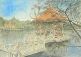 伊丹・緑ヶ丘公園の「亭(ちん)」 [March 11, 2012]
