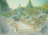 清荒神境内 〔January 8, 2009〕