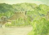 京都・美山のかやぶきの里 〔Octber 23, 2007〕