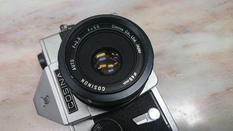 COSINA COSINON AUTO 55mm f2 8(M42)」の謎 : 会計士による