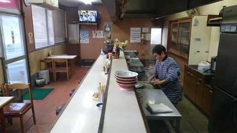 太閤ラーメン店内
