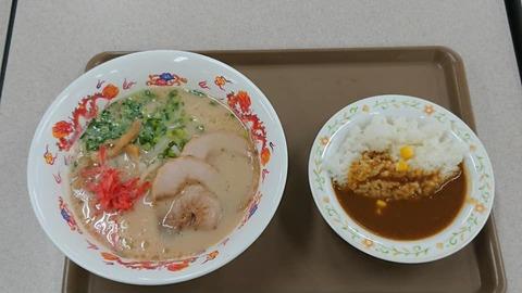 サンキッチンラーメン+ミニカレー