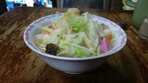 末広食堂チャンポン②