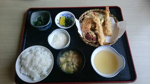 はなの天ぷら定食