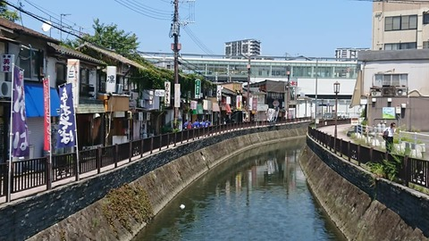 折尾堀川+駅
