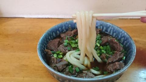 まゆみちゃん麺アップ