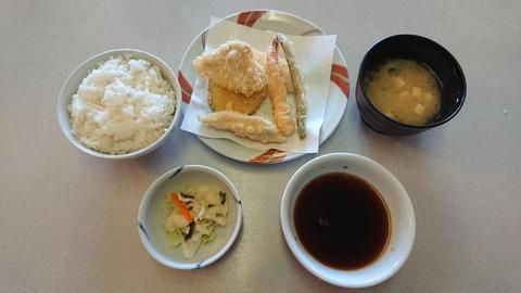 天ぷらふそう山寺昼定食
