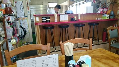 食堂楽店内