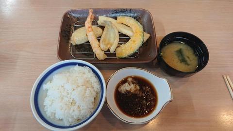 はまや天ぷら定食