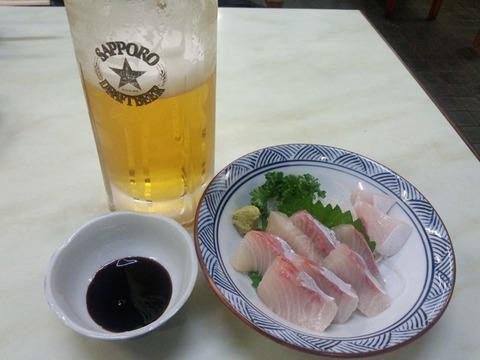 富士屋刺身&ビール