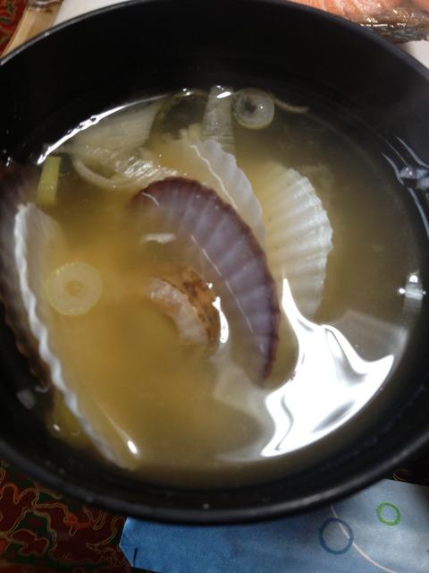 ほたての味噌汁