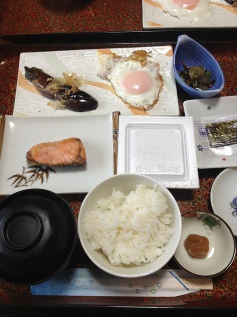 2日目民宿栄丸朝食