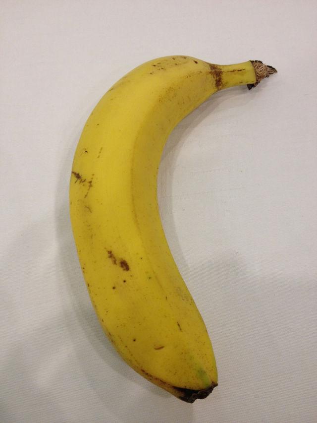 配られたバナナ