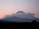 夕暮富士大
