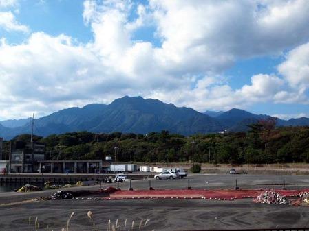 屋久島連峰