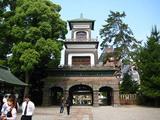 尾山神社門