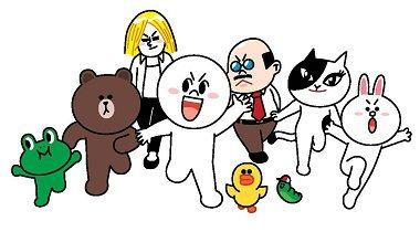 line友達blog