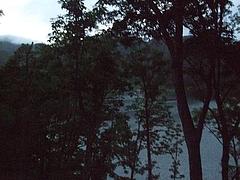 野尻湖ホテルの朝