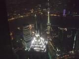 上海ヒルズ夜景