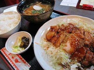 L-19 チキンテリヤキ定食