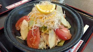 豚しゃぶサラダ冷麺(ごま しょうゆ)