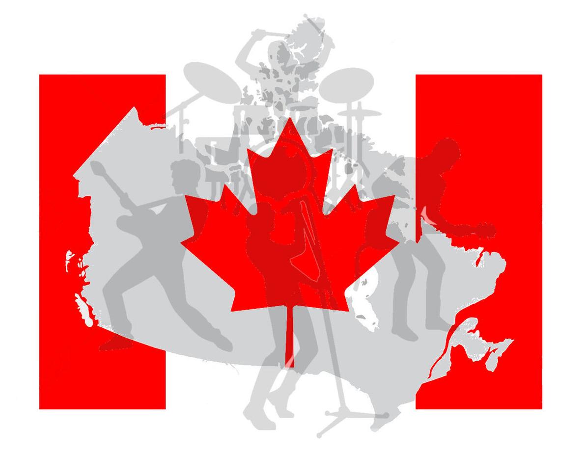10993227-bandera-y-el-mapa-de-canadá