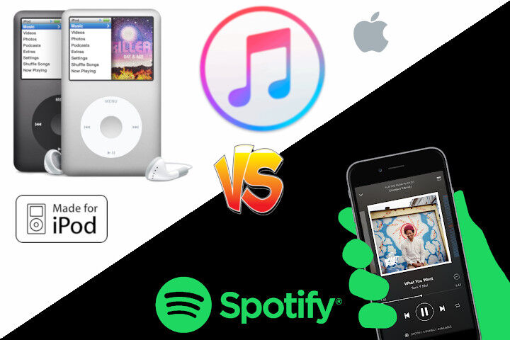 ipod vs spotify