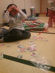 銀山でパズル