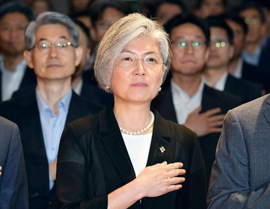 韓国新外務大臣「 日 本 は 覚 悟 し ろ 」