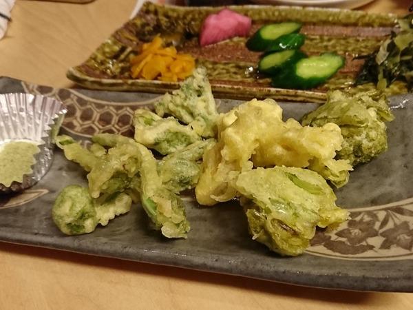 山菜天ぷら♪