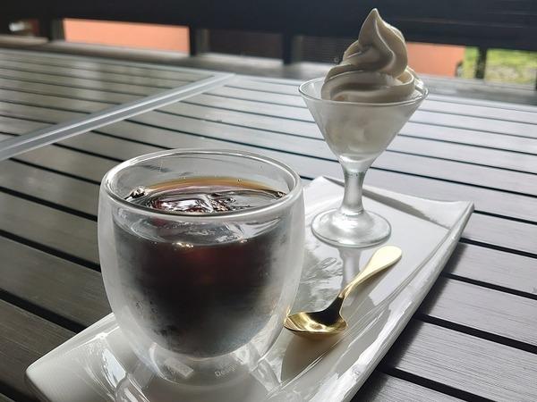 コーヒーフロート。