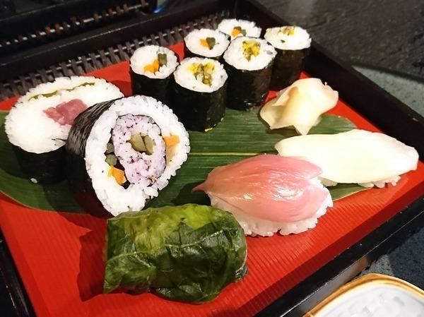 これぞ漬物寿司。
