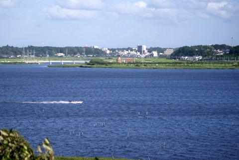 手賀沼から印旛沼