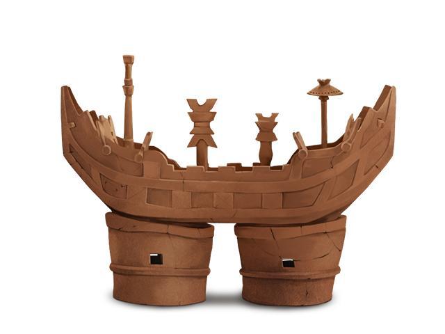 大型船の埴輪