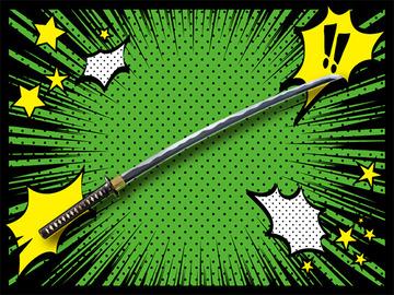 143_日本刀とアメコミがおもちゃでコラボ!