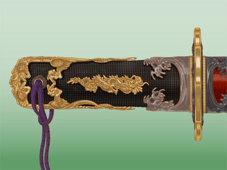 69_水龍剣と命名した刀剣の拵