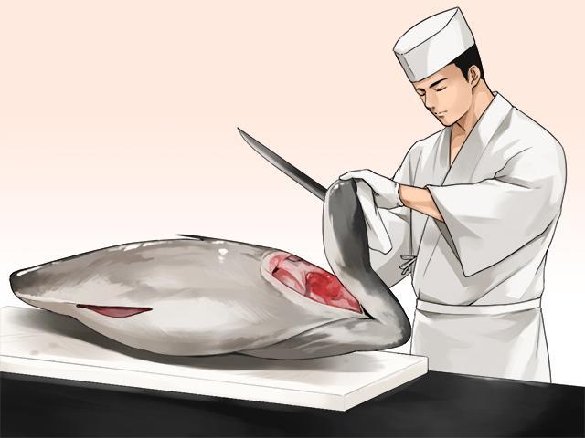 日本刀と包丁