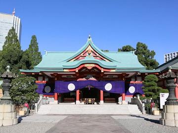 122_日枝神社には徳川将軍家ゆかりの刀剣も!