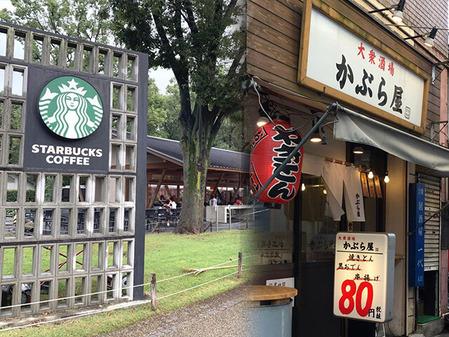 154_東京国立博物館近くの飲食店