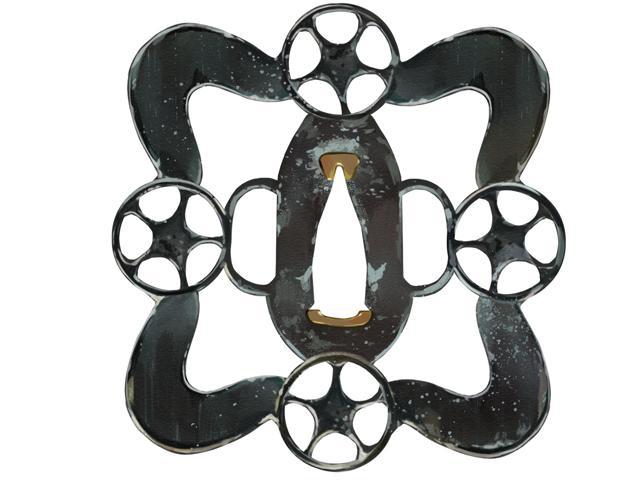 星模様の鍔