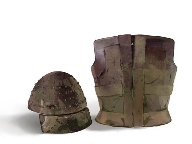 鉄製の甲冑(鎧兜)